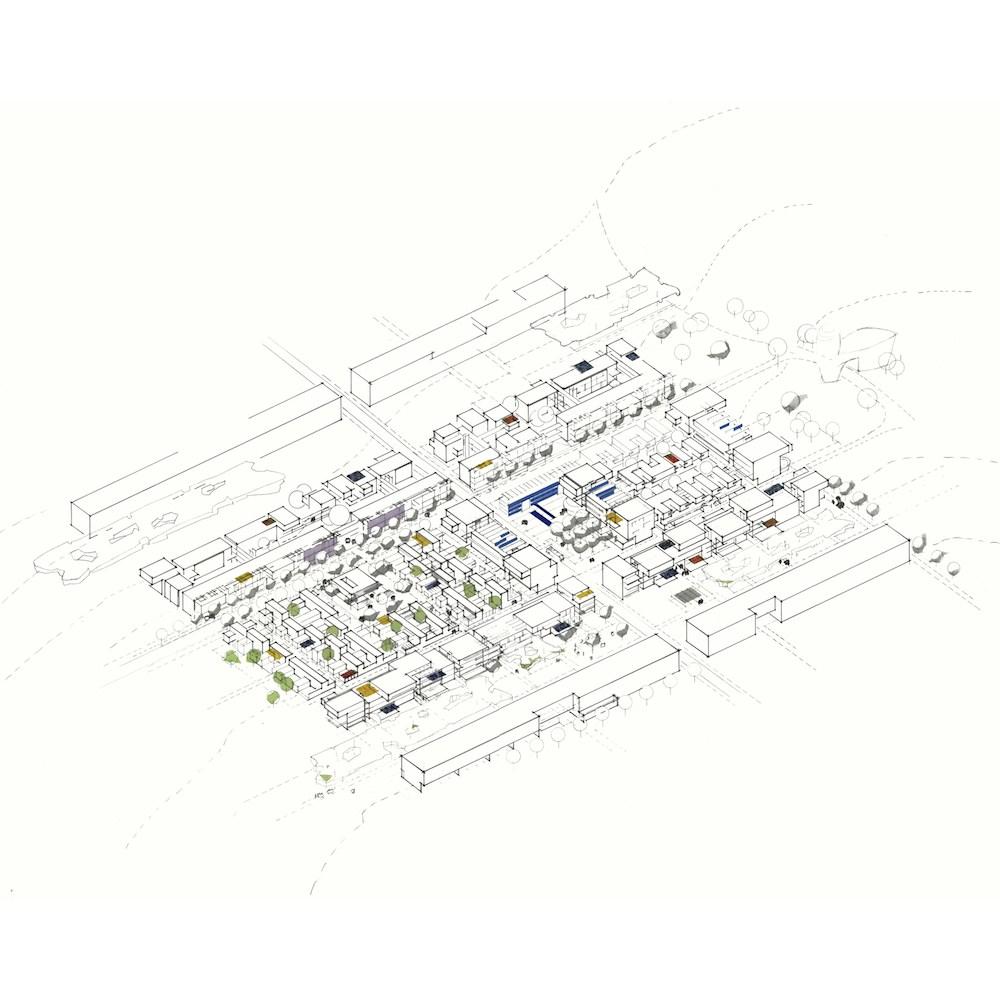 Olympisches-Dorf, Athen – Offener Internationaler städtebaulicher Wettbewerb 1.Preis