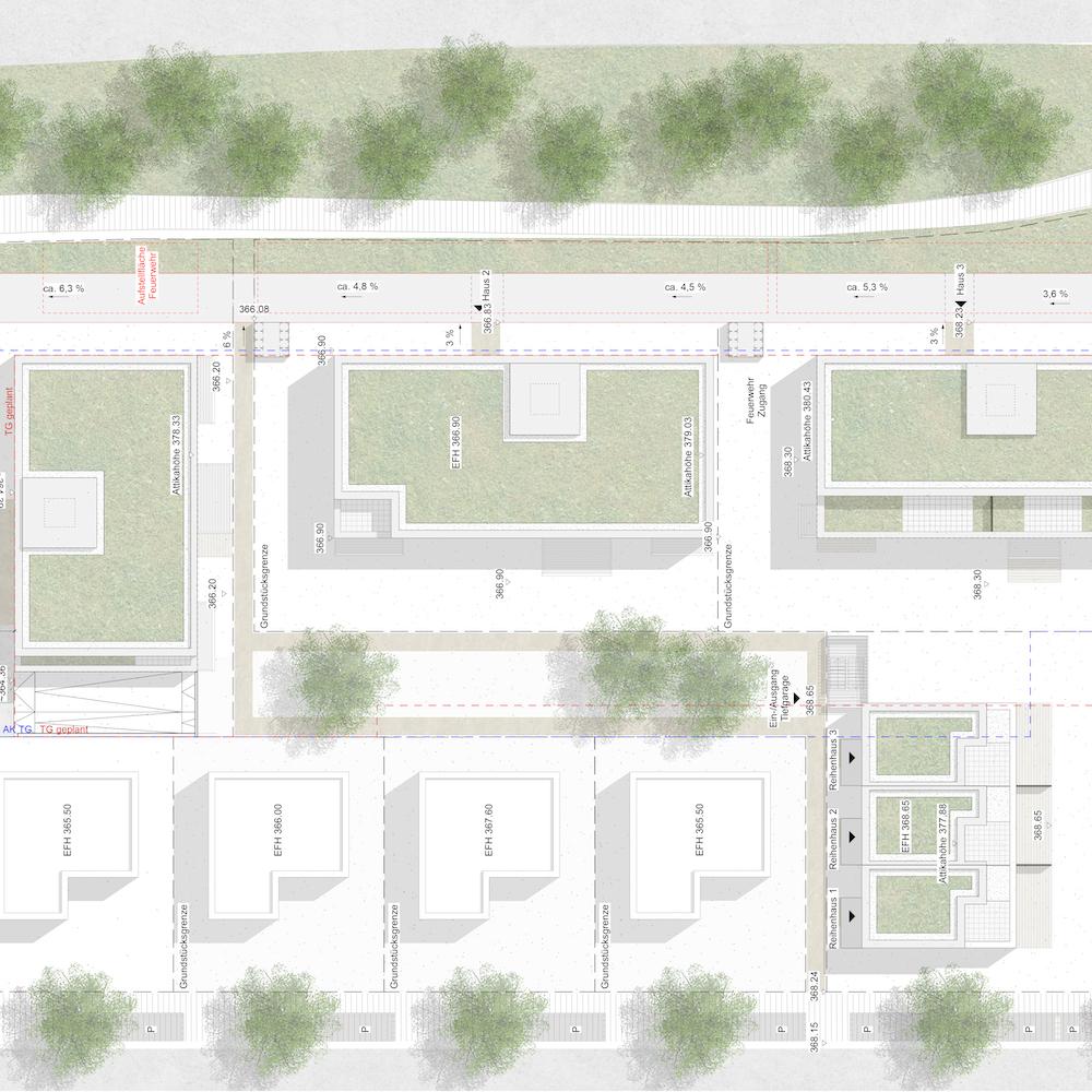 Akademiegärten Neuhausen auf den Fildern Wohnhof 6