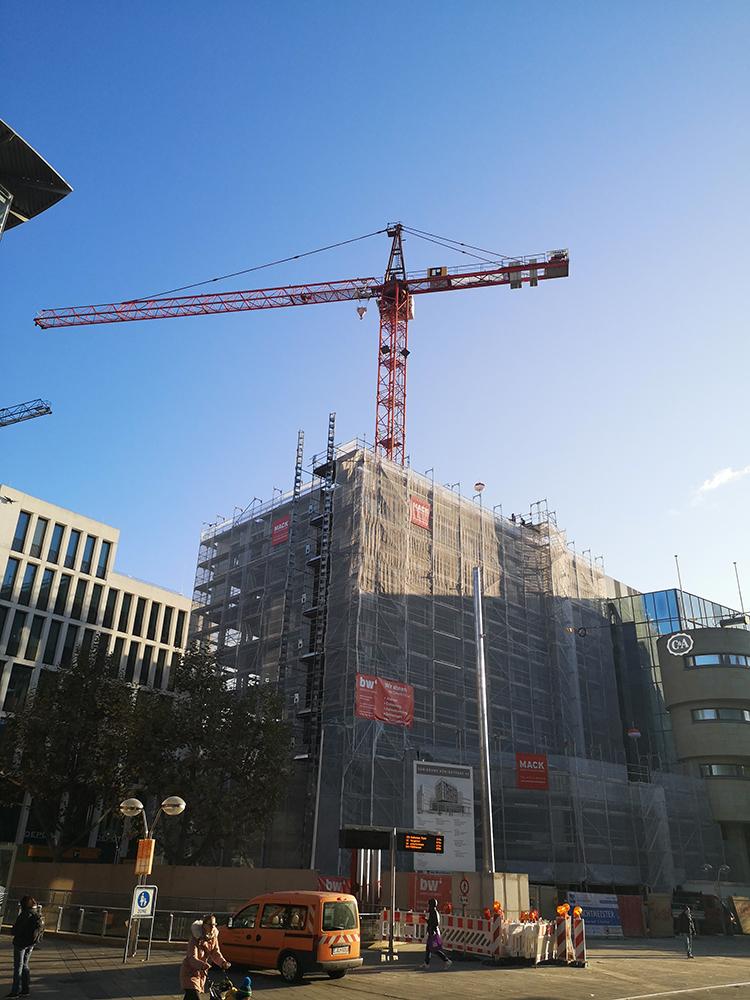 Bauleitung Sanierung Büro- und Geschäftshaus Königstraße, Stuttgart